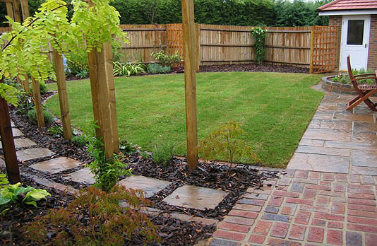 This Odd Shaped `new Build` Garden Was Quite Short, Wide And Overlooked  From One Side. The Client Wanted A Fairly Traditional Garden Design, With A  Decent ...