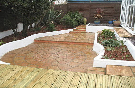 Garden Design North Facing garden landscaping | kpgd